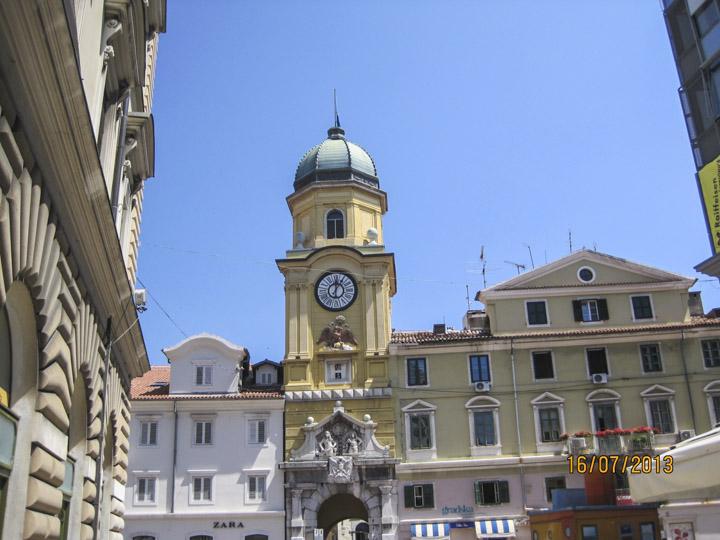 Rijeka's simbol - one among rare remained